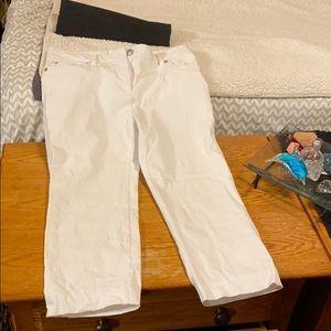 Zac and Rachel crop pants